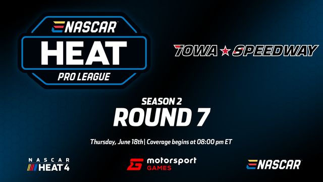 Live : eNASCAR Heat - Pro League - 7e manche