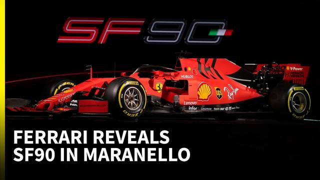 How Ferrari has mixed 'extreme' with simple: 2019 SF90 F1 technical analysis - Formula 1 Videos