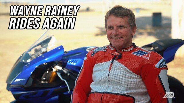 Wayne Rainey torna a guidare una moto!