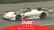 Peugeot 905 first appearance at Le Mans