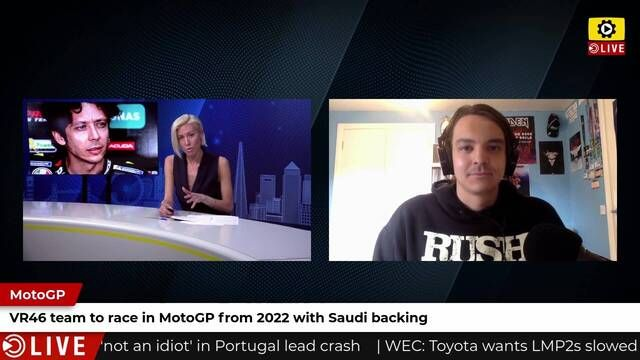 Team VR46 to run in MotoGP with Saudi backing