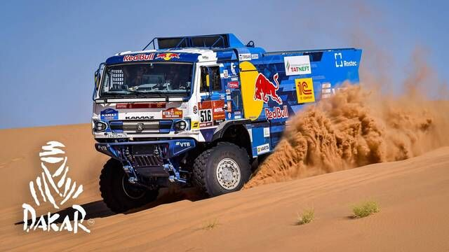Rallye Dakar 2020: Highlights Trucks Etappe 8