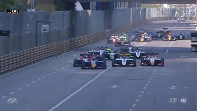 Macau GP - F3 World Cup: Start van de race