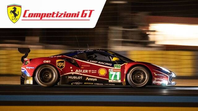 24 Hours of Le Mans: Ferrari FP3 and FP4