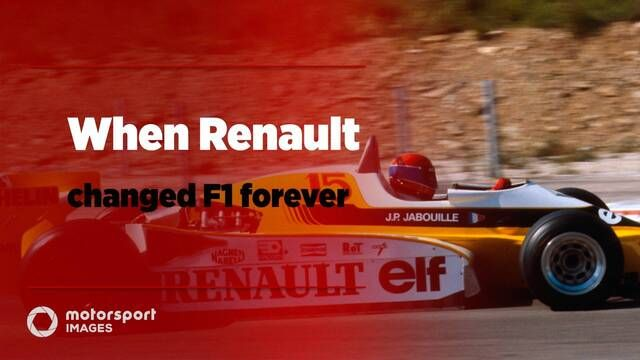 Grand Prix Greats – When Renault changed F1 forever