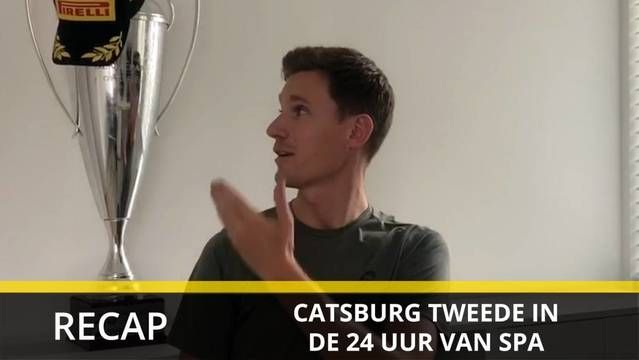 Nick Catsburg over zijn podium in de 24 uur van Spa
