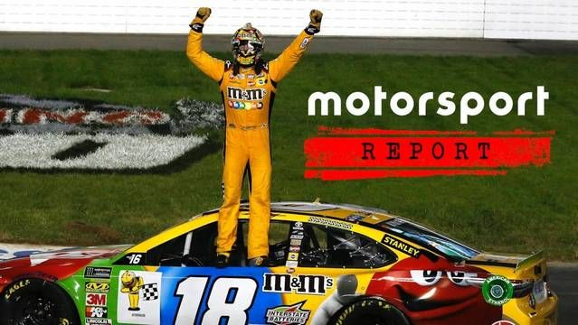 Kyle Busch's victory at Richmond Raceway and Brent Dewar steps down as President of NASCAR.