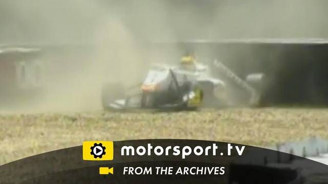 European F3: crash at Nürburgring