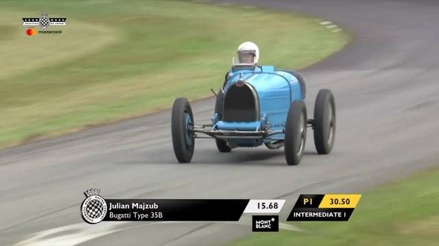 Goodwood FOS: Julian Mazjub in the Type Bugatti 35B