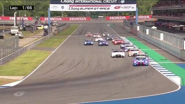 SUPER GT Buriram race start