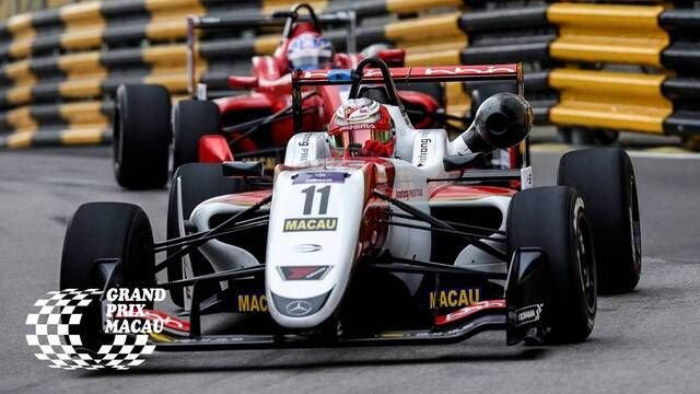 Macau GP: FIA F3 World Cup - Qualifying 2