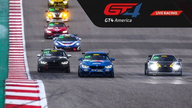 Live: VIRginia - GT4 America SprintX - Race 3