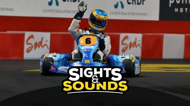 Sights & Sounds: Karting session with Sébastien Bourdais