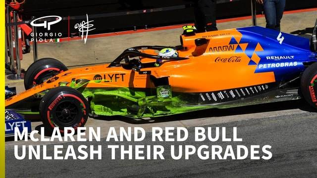 Red Bull and McLaren reveal aggressive F1 upgrades at Spanish GP
