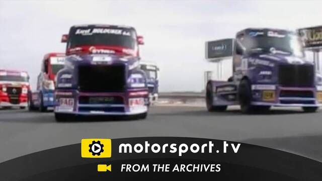 European Truck: Traffic jam at Jarama 2008