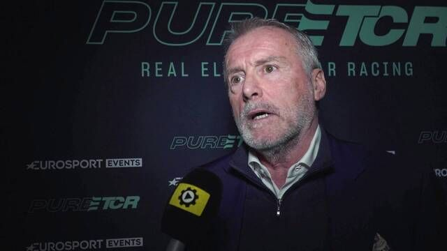 PURE ETCR launch - Marcello Lotti interview