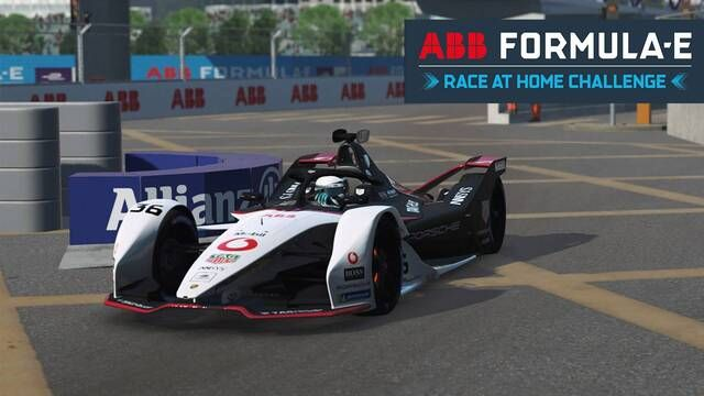 Formula E Race at Home Challenge - runda 2 na żywo