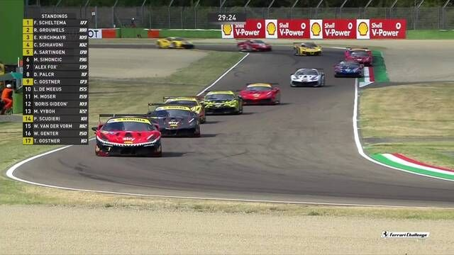 Ferrari Challenge Europe: Imola - Coppa Shell - Race 1