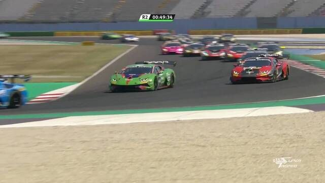 Lamborghini Super Trofeo Europe: Misano - Race 2 start