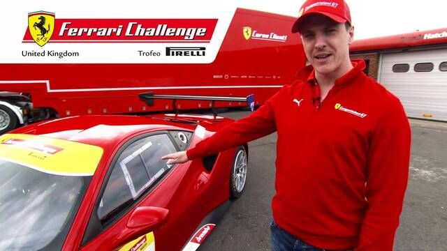 Discover the Ferrari 488 Challenge with James Calado