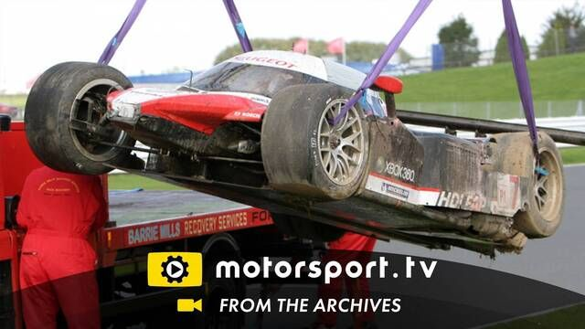 Le Mans Series 2008: Nicolas Minassian crash