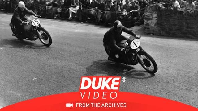 1948 Isle of Man TT: A look at the pit-wall