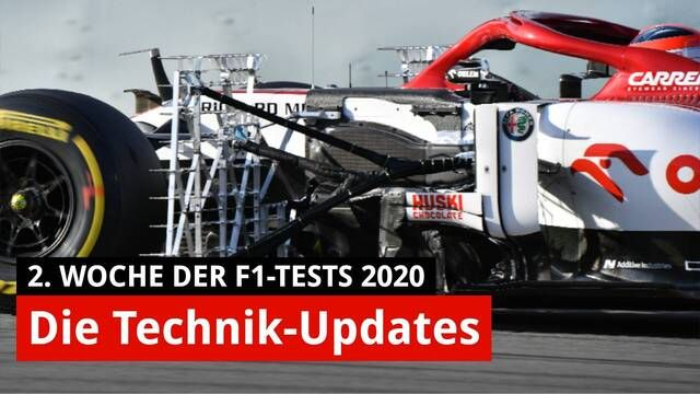 F1-Test Barcelona 2020: Die Technik-Updates von Ferrari & Co.