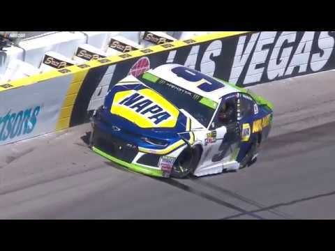 McMurray, Elliott wreck in final stage at Las Vegas