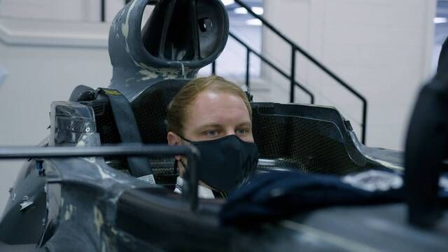 Mercedes: il seat fitting di Valtteri Bottas