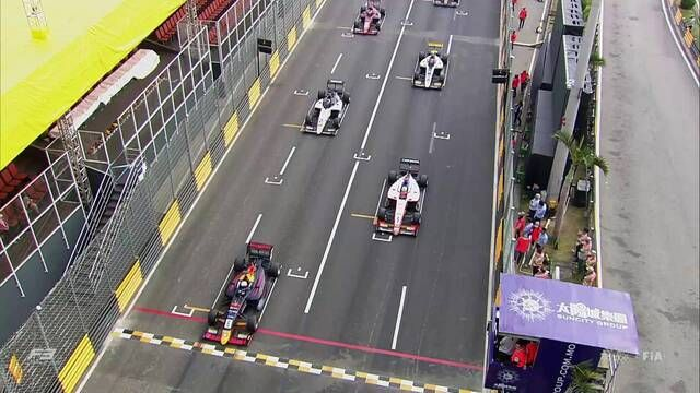 Macau GP - F3: Qualifying race highlights