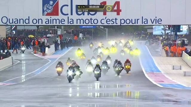 FIM EWC: Bol d'Or race start