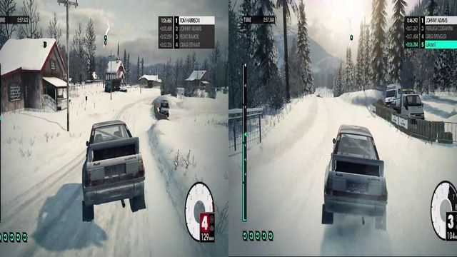 DiRT 3 Turbo Mode vs. Normal - Audi Quattro Group B - Norway
