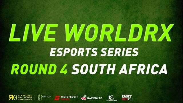 Live: World RX Esports - South Africa