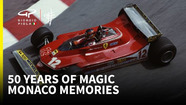 Giorgio Piola's favourite moments from 50 years of Monaco Grands Prix