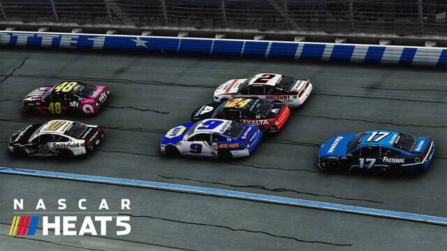 NASCAR Heat 5 Launch Trailer