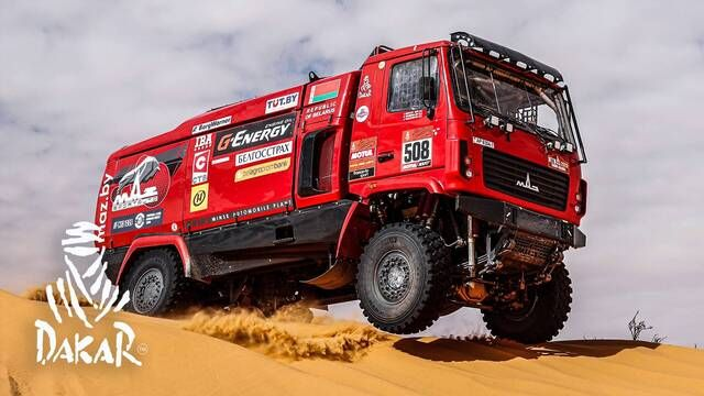 Rallye Dakar 2020: Highlights Trucks Etappe 6