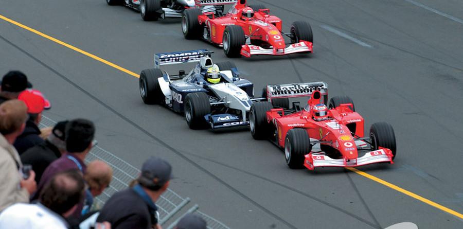 Barrichelllo and Ralf Schumacher blame each other
