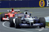 Montoya knew Michael Schumacher was faster