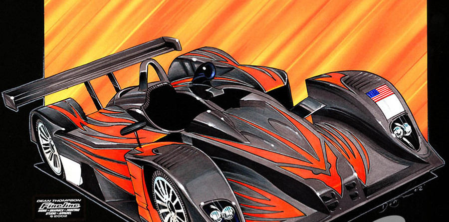 """KnightHawk's """"got the fever"""" at Le Mans"""