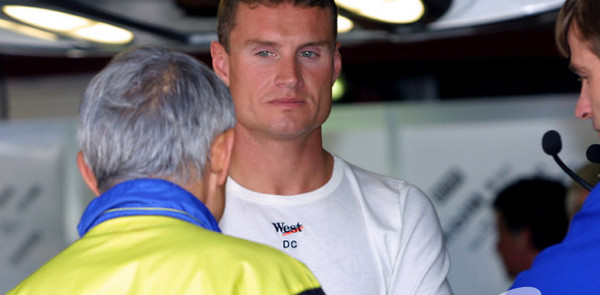 Coulthard and Irvine continue feud