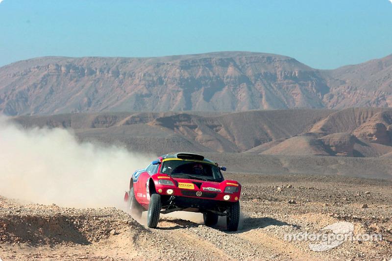 Dakar: Volkswagen stage 15 report