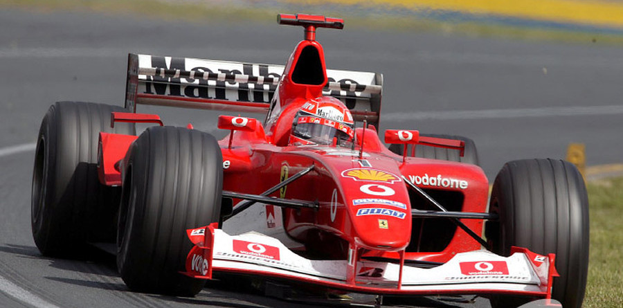 Wrong tyre choice for Schumacher