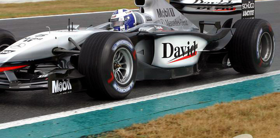 Coulthard fastest in British GP first practice