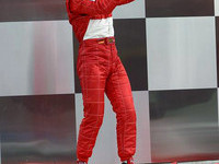 Schumacher dominates US GP drama