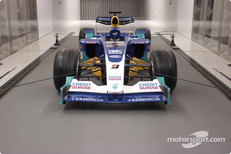 Sauber presents new wind tunnel
