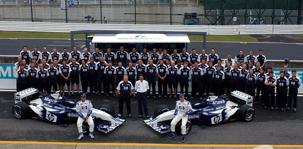 Williams to start 2004 launches