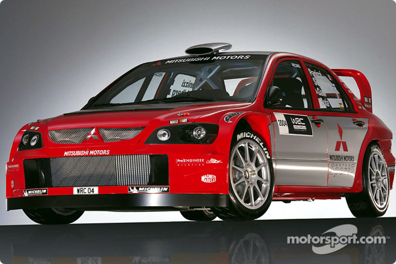 Mitsubishi unveils new Lancer WRC04