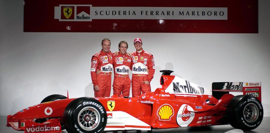 Ferrari launches F2004 at Maranello