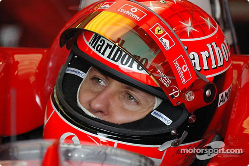Schumacher can't wait to race