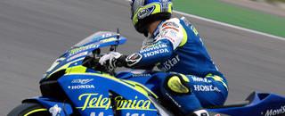 MotoGP Gibernau maintains control of the French GP